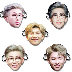 BTS Kim Namjoon Bias Face Mask - Accessories