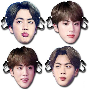 BTS Kim Seokjin Bias Face Mask - Accessories