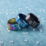 BTS Logo Laser Ring - Set Of 3 (Save 15%) - Accessories