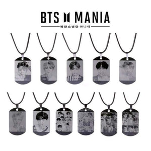 Bts Love Yourself Answer L Necklace - Accessories