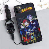 BTS Love Yourself x Ddaeng iPhone Case - Left-Real Person / 11 Pro - For Phone