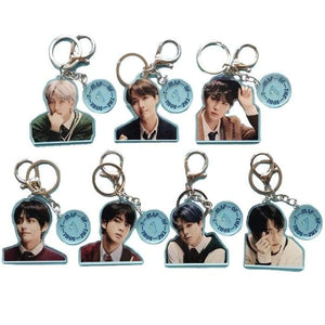 BTS Map Of The Soul: 7 Concept 4 Keyring - Set Of 7 (SAVE 20%) - Keyring