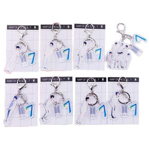 BTS Map Of The Soul: 7 Member Keyring - Keyring