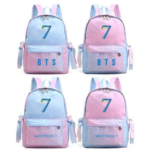BTS Map Of The Soul: 7 Pastel Backpack - Backpack