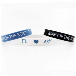 BTS Map Of The Soul: 7 Rubber Bracelet - Accessories