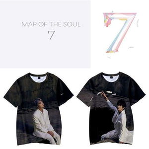 BTS Map Of The Soul: 7 (Ver 1) 3D T-shirt - T-shirt