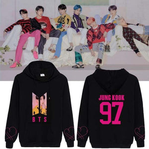 BTS Map Of The Soul Persona Concept 4 Hoodie - Hoodie & Jacket