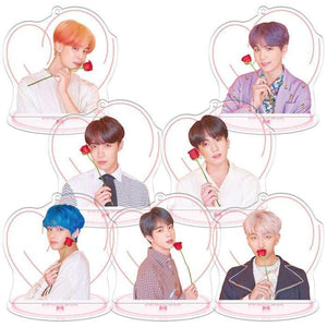 BTS Map Of The Soul: Persona LED Round Plaque - BTS (All 7 Members) / Without Power Adapter - Accessories