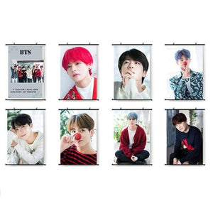 BTS Member Christmas Concept Canvas Poster - Set Of 8 (Save 20%) - Poster