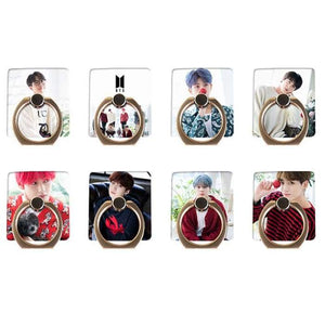 BTS Member Christmas Concept Phone Ring - Set Of 8 (Save 20%) - For Phone