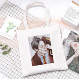Member Drawing Design Canvas Bag