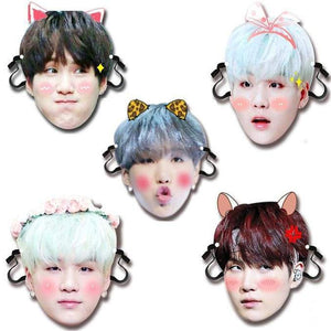 BTS Min Yoongi Bias Face Mask - Accessories