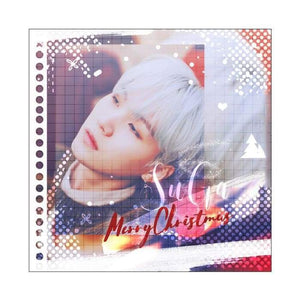 Bts Min Yoongi Special Christmas Gift Card - Christmas