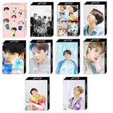BTS Mini Doll Figure Combination Lomo Card - Photocard