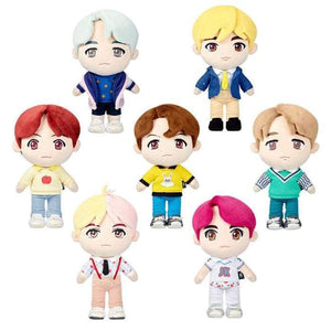 BTS Mini Doll Figure Plushies - ALL 7 CHARACTERS (20% OFF) - Doll