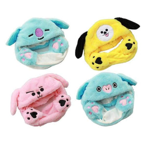 BTS BT21 Pinching Ear Rabbit Hat - BT21