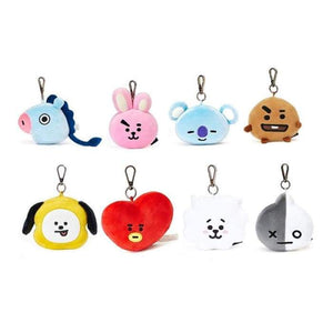 BTS BT21 Plush Cute Keyring - BT21