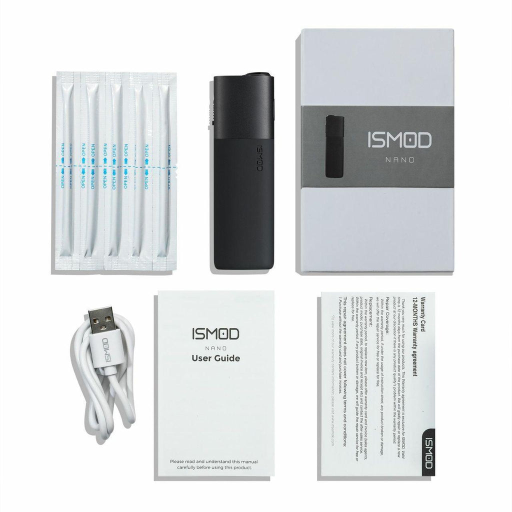 ISMOD NANO Heat not burn heating devices for tobacco stick - compatible with HEETS