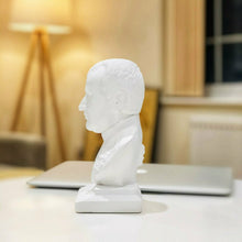 Load image into Gallery viewer, Napoleon Bonaparte White Colour Handmade Alabaster and Plaster Bust Home Decor Art