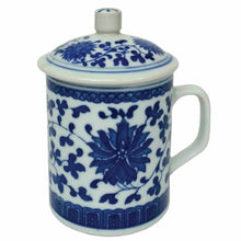 Load image into Gallery viewer, Floral Chinese Porcelain Mug