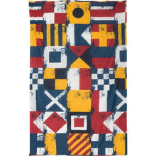 Load image into Gallery viewer, Nautical Flags Cotton Scarf