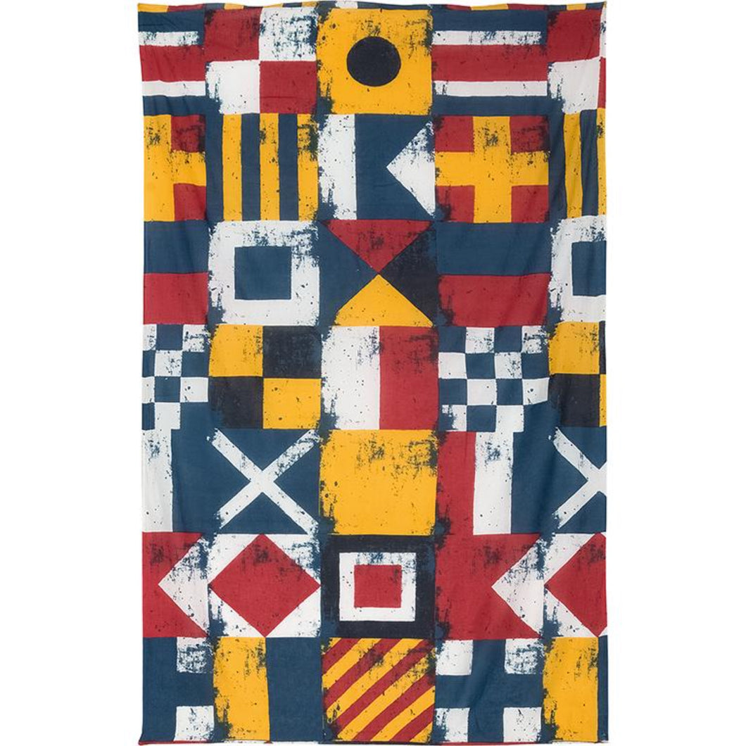 Nautical Flags Cotton Scarf