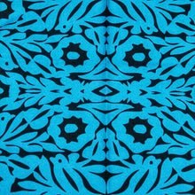 Load image into Gallery viewer, Mexican Oaxaca Embroidery Design Blue - Mexipop Art Design
