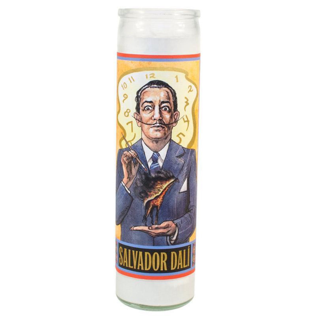 Salvador Dalí Secular Saint Candle By The Unemployed Philosophers Guild