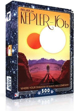 Load image into Gallery viewer, KEPLER-16B -500 Piece Jigsaw Puzzle - New York Puzzle Company