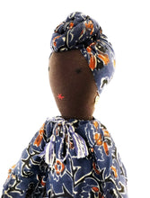Load image into Gallery viewer, African Lady with Turban Doll - Fair Trade & Handmade
