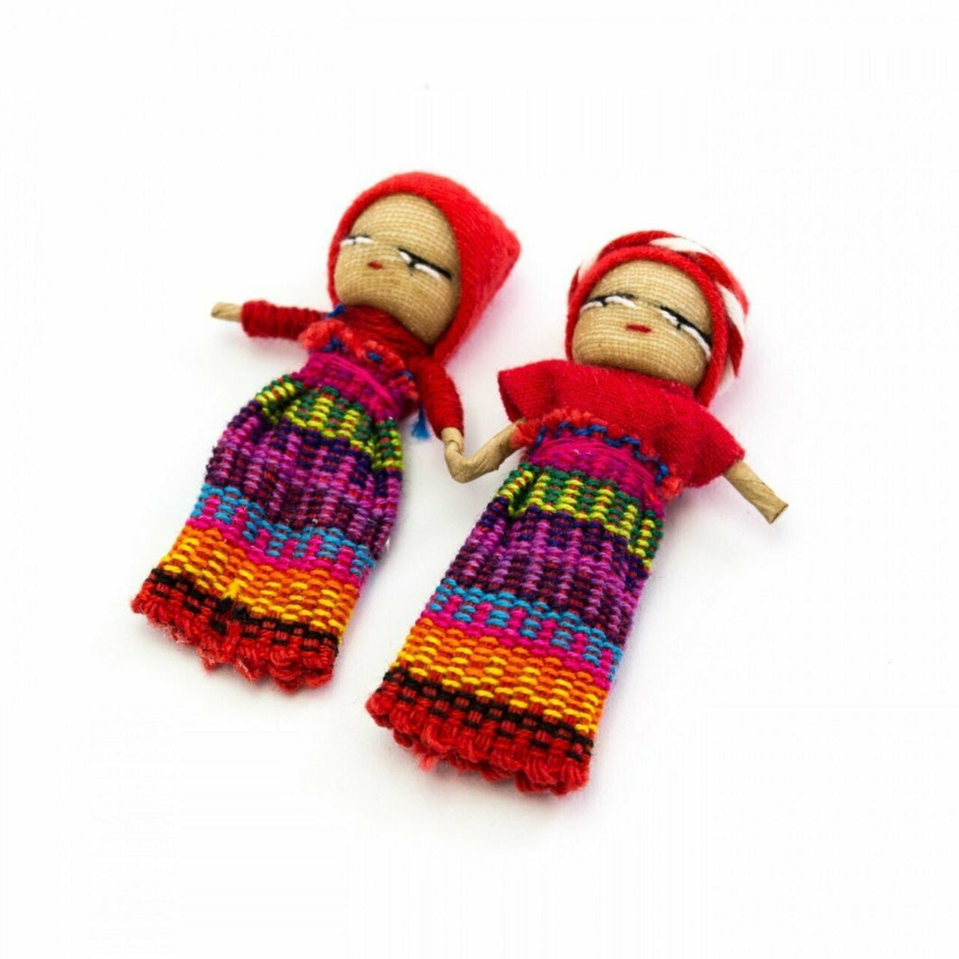 Holding Hands on Card. Handmade in Guatemala. Gifts