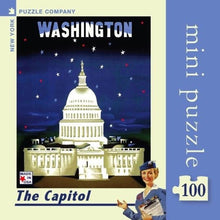 Load image into Gallery viewer, The Capitol 100 pieces Mini Puzzle
