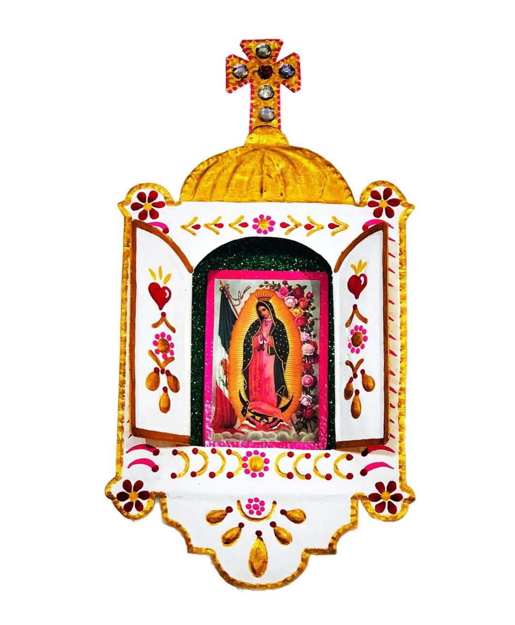 Church Our Lady of Guadalupe Niche Home Decoration 24 cm