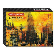 Load image into Gallery viewer, Street Notes - New York (Note Cards) - Street Notes Avone (author)