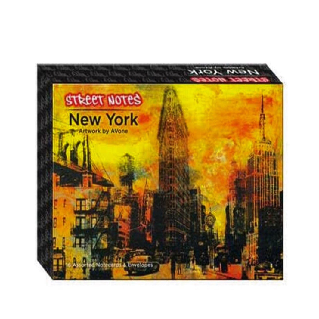 Street Notes - New York (Note Cards) - Street Notes Avone (author)