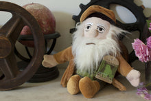 Load image into Gallery viewer, Leonardo Da Vinci Little Thinker Plush - The Unemployed Philosophers Guild - Plush Doll for Kids and Adults