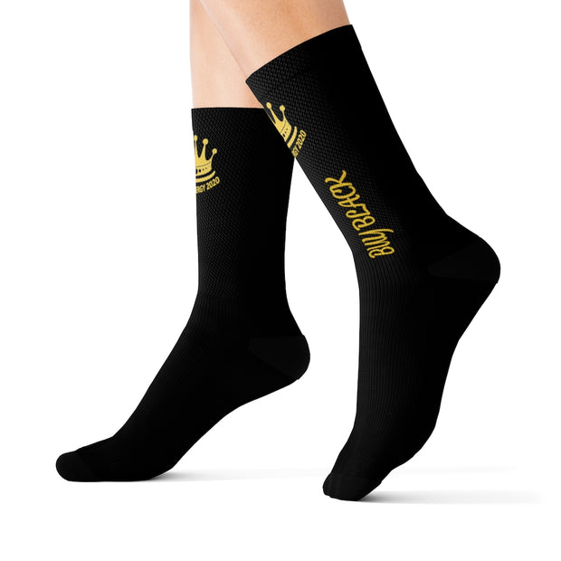 Buy Black Sublimation Socks