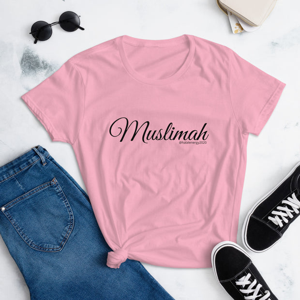 Muslimah Women's short sleeve t-shirt