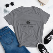 Protect & Support Our Black Queens Women's short sleeve t-shirt