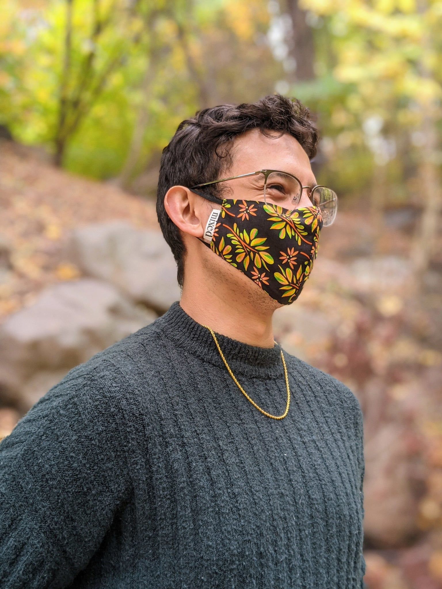 Fall Foliage Facemask