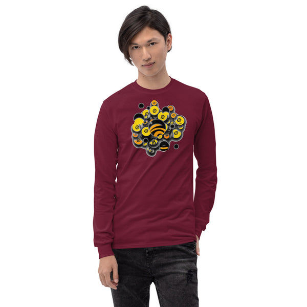 LOGOS Series- Brain Carb Color- Long Sleeve Shirt