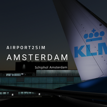 Load image into Gallery viewer, Airport2Sim Amsterdam