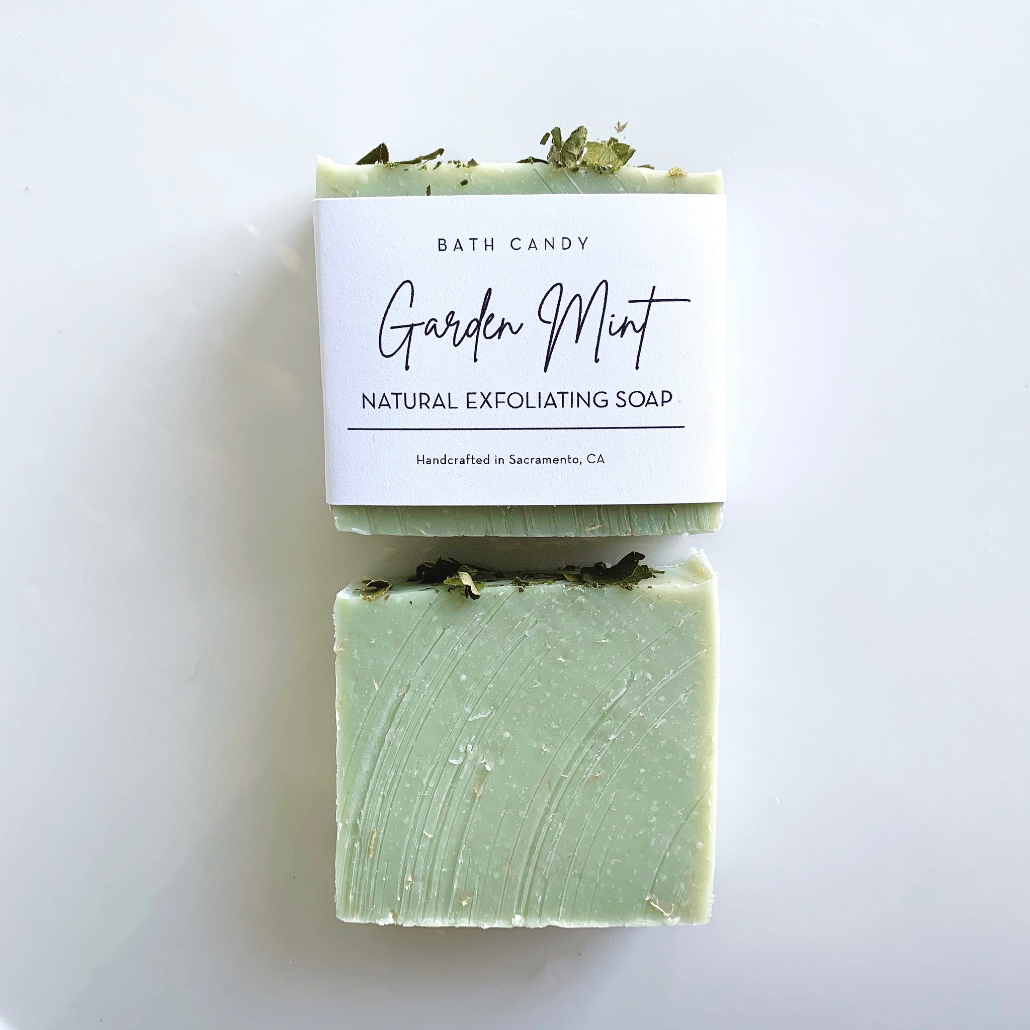 Garden Mint Scrub Soap