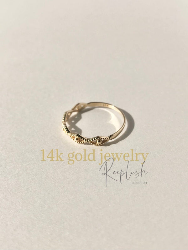 14K gold Ring - Nefertiti -