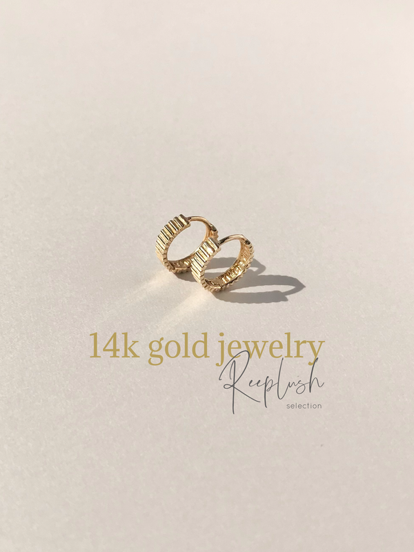 14K gold Pirce -FE6699-