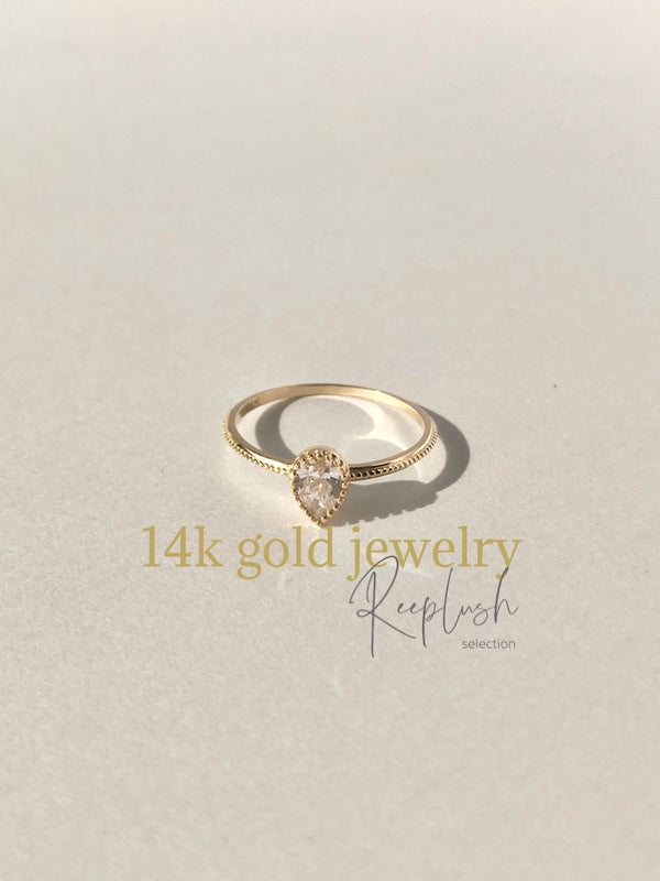14K gold Ring - Shu -