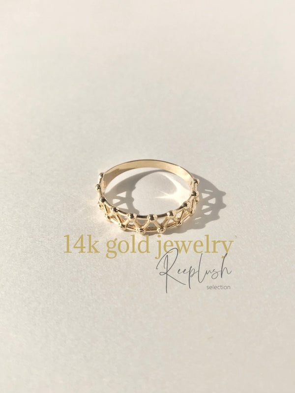 14K gold Ring - Hathor -