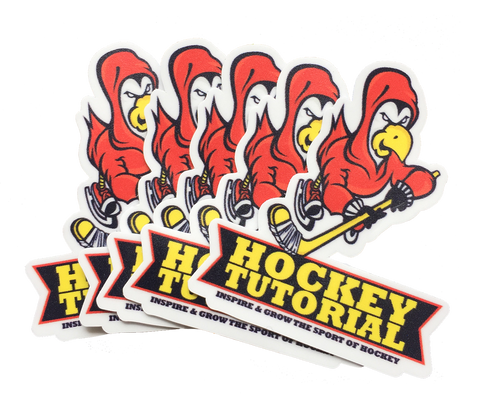1. Hockeytutorial Stickers - 5 Pack