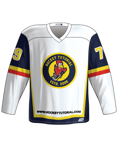 1. HT Custom Ice White Jersey