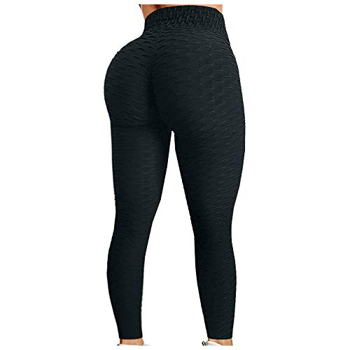 Womens Butt Lift Yoga Pants High Wasited Anti-Cellulite Leggings Sports Jogging